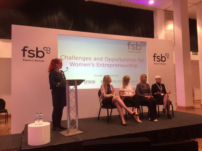 Nicola attends the FSB roadshow