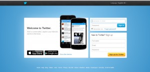 How to set up a twitter page